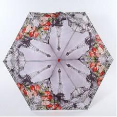 Женский зонт супер мини механика Lamberti 75116-1853 Париж