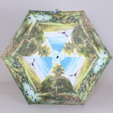 Плоский зонтик супер мини S.Nikas by Lamberti 75117-1868 Сон о райских птицах в туманном лесу