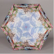Зонт механика супер мини Lamberti 75126-1852 Прогулки по Венеции в цветах