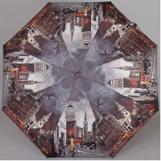 Женский зонт супер мини Lamberti 75325-1809 Вечерний мегаполис
