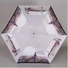 Плоский мини зонт Lamberti 75336-1817 Парижанки Софи Гриотто