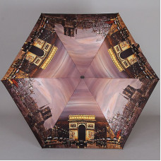 Плоский зонт супер мини Lamberti 75336-1805 Вечерний Париж