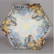 Зонт супер мини плоский Lamberti 75336-1850 Париж в цветах