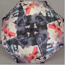 Зонт женский полуавтомат Magic Rain 4333-0001 Стрекозы