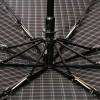 Зонт мужской черный серая клетка Magic Rain 7021-1703