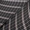 Мужской черный зонт серая, коричневая клетка Magic Rain 7021-1701