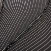 Мужской черный зонт в полоску с ручкой крюк Magic Rain 7022-1702