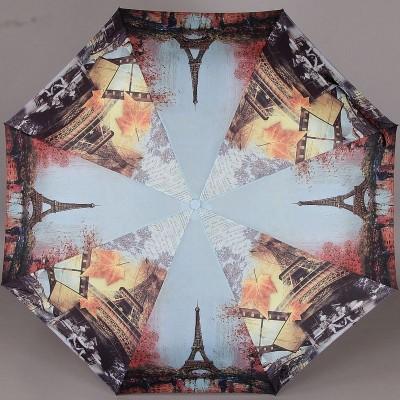 Складной женский зонт Magic Rain 7223 Париж