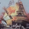 Складной женский зонт Magic Rain 7223-1604 Париж