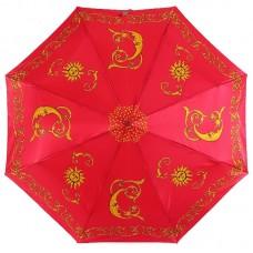 Зонт женский Magic Rain 3344-20 Солнце и Луна на красном