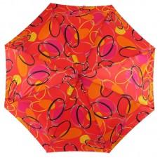 Яркий зонтик Magic Rain 3344-13 Кольца на красном