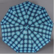 Синий зонтик в клетку Magic Rain L3FAS59P-9