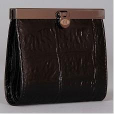 Черный кошелек из натуральной кожи Malgrado 44009-29101 Black