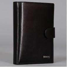 Практичное мужское портмоне с автодокументами Malgrado 54006-5401D Black