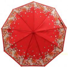Женский зонтик M.N.S. S405-9801 Цветочки на сатине