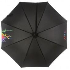 Женский зонт трость NeX 31611 с ремнем на плечо