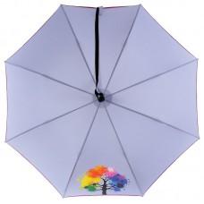 Женский зонт трость NeX 31611-037A Радужное дерево