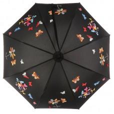 Зонт трость женский NEX 31611 Бабочки