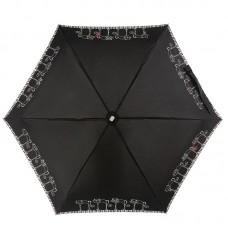 Мини зонт плоский женский NEX 65511-036A Кошечки