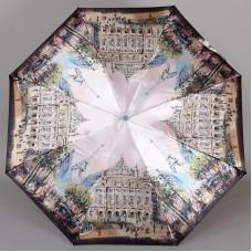 Легкий (250 гр) миниатюрный (17 см) зонт с тематикой Парижа Planet 146