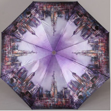 Зонт женский Planet 157-9802 Кошки в большом городе