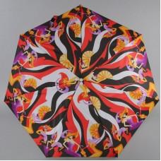 Зонт женский Prize 395 Маскарад красный автомат