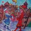 Детский зонт по мотивам русских народных сказок Unizont 1241-9801
