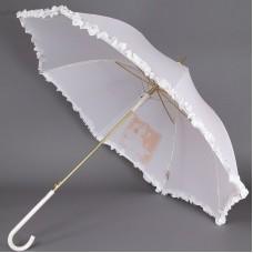 Белый зонт свадебный Sponsa 6077-9804