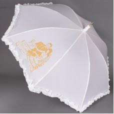 Зонт белый свадебный Sponsa 6077-9806