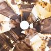 Зонт в три сложения Sponsa 8061-9803 Глянец