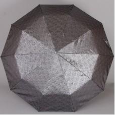 Зонт женский 10 спиц серый Sponsa 8235-9804 Пейсли коллекция