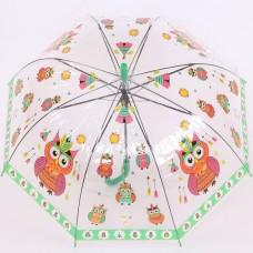 Прозрачный зонтик детский Torm 14803-1904 Совы-индейцы