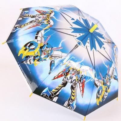 Детский зонт трость с рисунками роботов TORM 14804-05