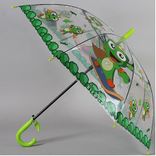 Зонтик детский трость со свистком TORM 14807-10 Лягушата