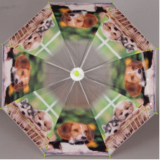Зонтик трость с собачками TORM 14809-02