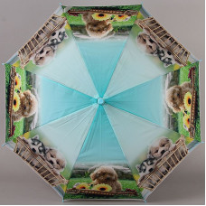 Зонтик детский трость с щенятами и свистком TORM 14809-05