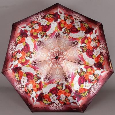 Зонт полный автомат Три Слона 090 Букет роз