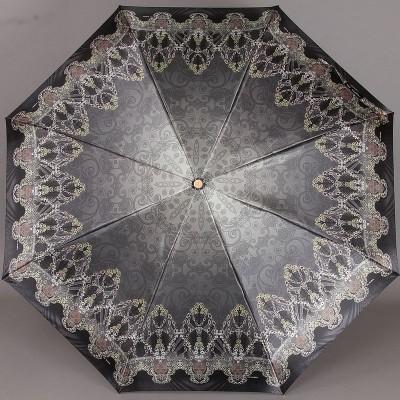 Зонт женский с узорами Три Слона 100
