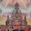 Зонт женский Три Слона 101-9803 Собор в цветах