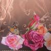 Женский зонт с эффектом легкого складывания Три Слона 125 H/EL Нежные розы