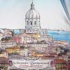 Женский зонт Три Слона 133 Лиссабон, Португалия