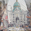 Зонт женский Три Слона 133-9801 Вена, Австрия