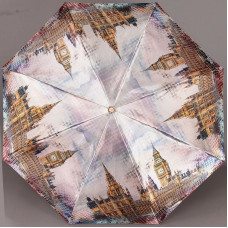 Женский зонт Три Слона 135P/EL-9802 Лондон