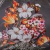 Зонт облегченный (320 гр) Три Слона 366-9801 с белоснежными лилиями