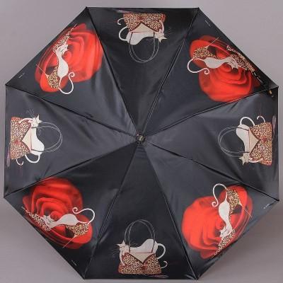 Зонтик женский Три Слона 880 Кошечки