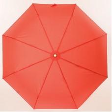 Красный однотонный зонт Три Слона 885-9805