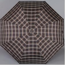 Мужской зонт в клетку Три Слона 907