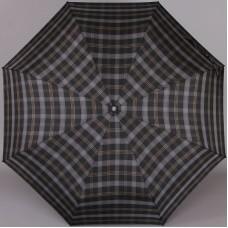 Зонт в клетку мужской Три Слона 907