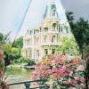 Зонт женский TRUST 30472-91 Усадьба в цветах