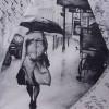 Зонт женский TRUST 30475-20 Письма